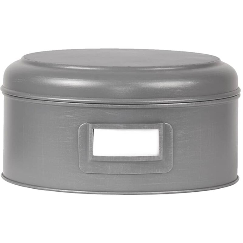 Image of Storage Box 25x13 cm XL - Grey - Label51