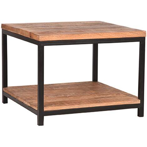 LABEL51 Table d'angle Vintage 60x60x46 cm