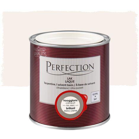 Laca a Base de Disolventes, Perfection - Gloss - 0 Blanca Pura - 750ml - 10m² - Cobertura total - 0 Blanca Pura