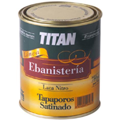 Laca Nitro Tapaporos Satinado - TITAN - 15H000338 - 375 ML