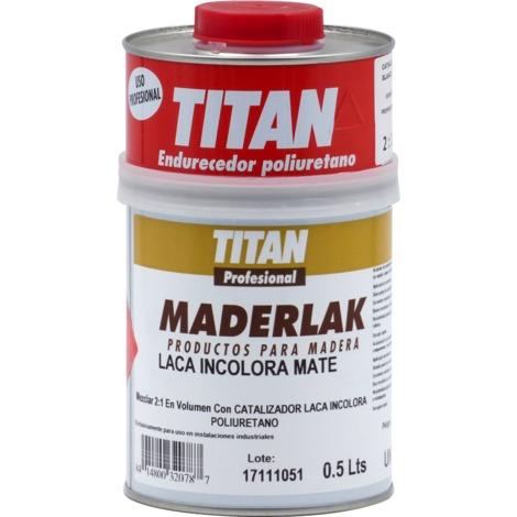 Laca PU Incolora Mate Maderlak 750 ml