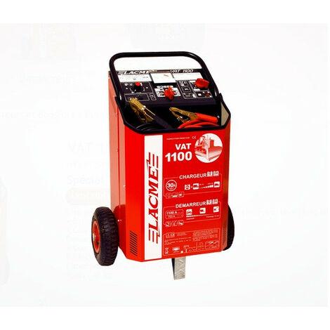 Lacmé - Chargeur démarreur sur roues pour 12/24V 1100A - VAT 1100