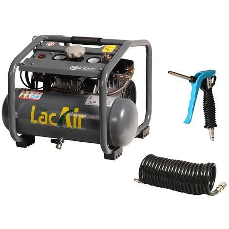 LACME Compresseur monobloc 6.2m³/h SILENT6 CSH + accessoires - 461912
