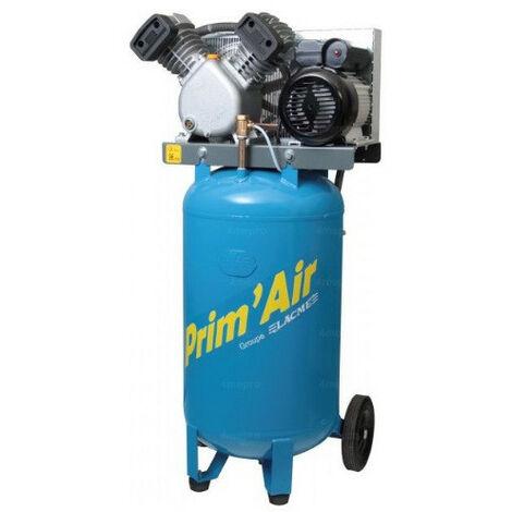 Lacmé - Compresseur vertical 3CV Monophasé 21 m3/h 100L - PRIMAIR VVM 21/100