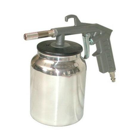 Lacmé - Pistolet de sablage à godet pneumatique 1L calibre sable 0,1-0,2