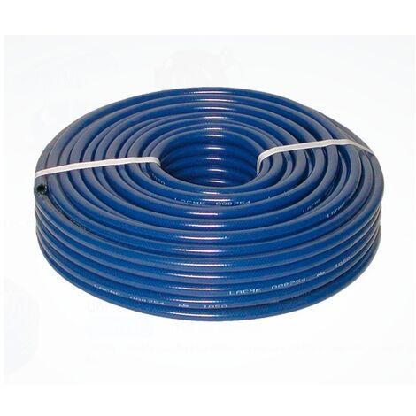 Lacmé - Tubo de PVC reforzado 8 x 14 mm x 50m sin accesorios