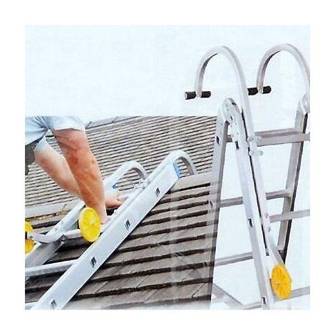 Ladder Roof Hook Set Turns Your Ladder into Roof Ladder