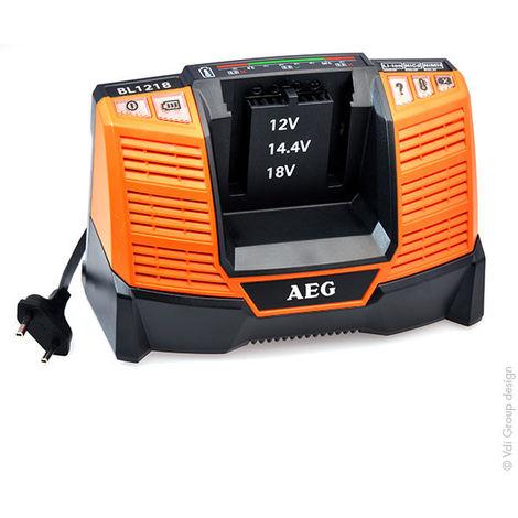 30/min per NiCd//NiMH//Li-Ion Caricabatteria AEG BL 1218/