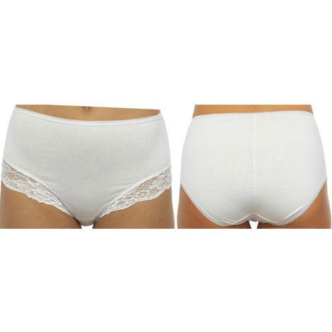 Ladies Anucci Brand Stretch Cotton Control Shaping Briefs Underwear 6 Pack