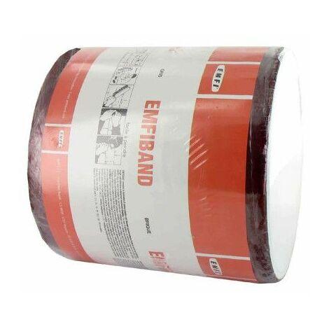 Ladrillo autoadhesivo impermeabilizante en frío EMFI rojo 15cm x 10m