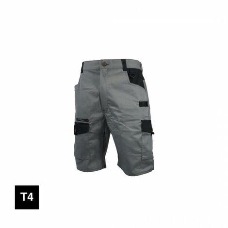 LAFONT Bermuda shorts - graphite gray and black - Size 4