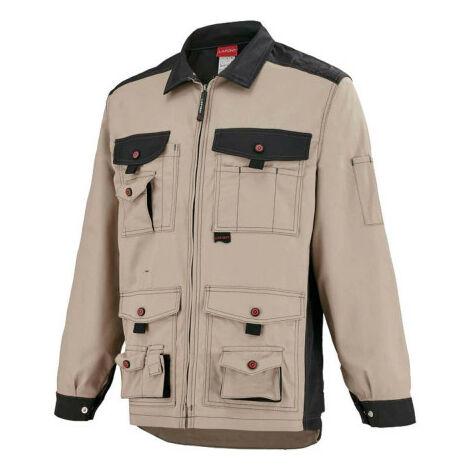 LAFONT Work Attitude Work Jacket - Beige-Black - Size 0