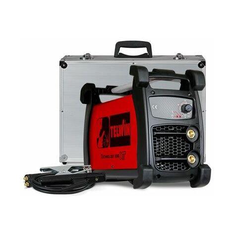 Lagerräumung - Telwin - Schweissgerät Inverter MMA und WIG 230V 6kW 5-200A mit Koffer - TECHNOLOGY 236 XT 230V ACX+ ALUMINIUM-KOFFER. -