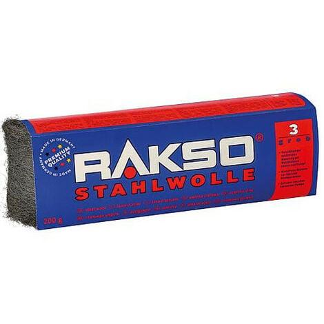 Laine d'acier 200 g gros (3)