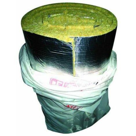 laine de verre de 1,2 x 20 mt sp 30mm rouleau d'aluminium