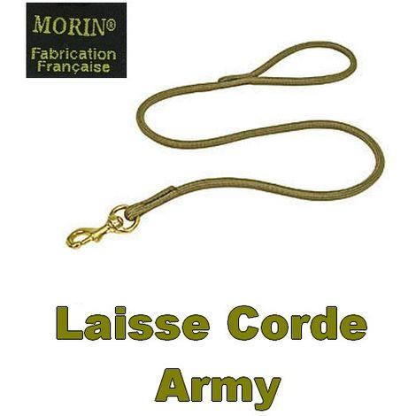Laisse en Corde ARMY Désignation : Laisse ARMY | Longueur : 2 m | Largeur : Laisse ARMY MORIN 100636
