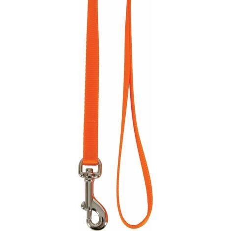 Laisse nylon chat orange