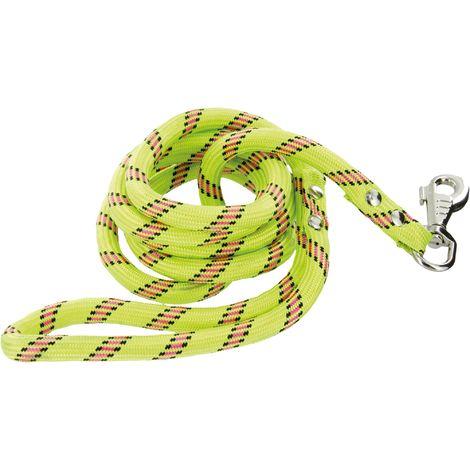 Laisse nylon® corde pour chien Zolux - Anis