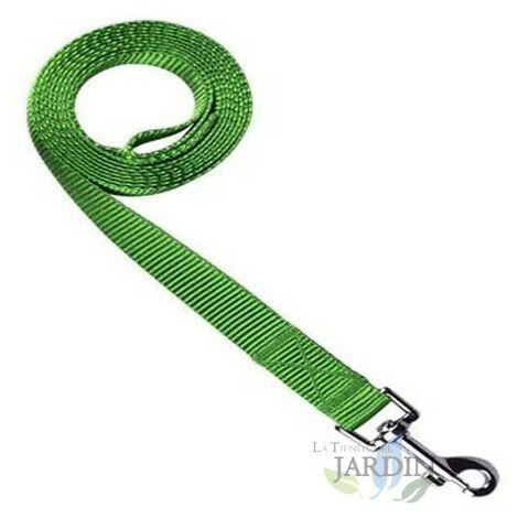 Laisse nylon pour chiens 150cm vert