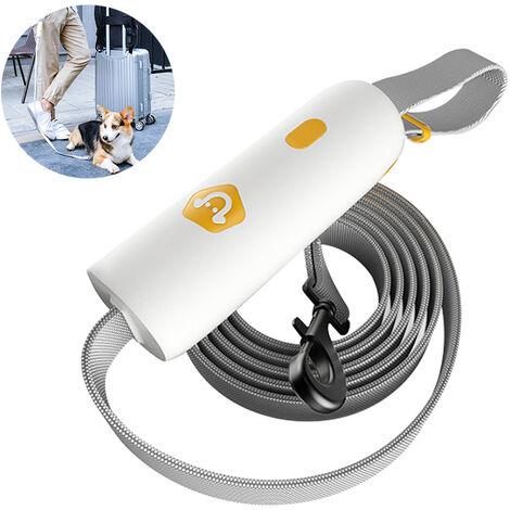 Laisse puissante pour chien, poignée confortable à déverrouillage et corde élastique anti-perte hautement réfléchissante, adaptée aux chiens de taille moyenne et petite, style 1