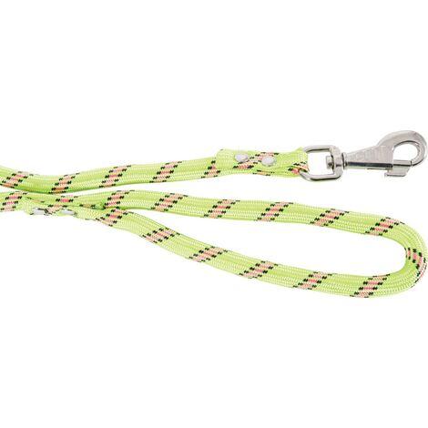 Laisse simple nylon corde jacquard