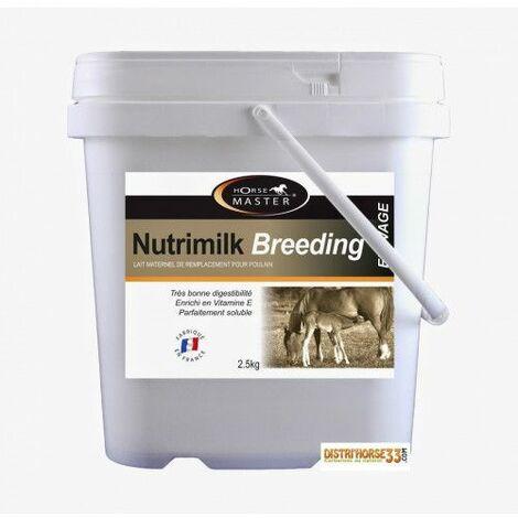 Lait substitution pour poulain orphelin - NUTRIMILK BREEDING - Contenance: 2.5 kg