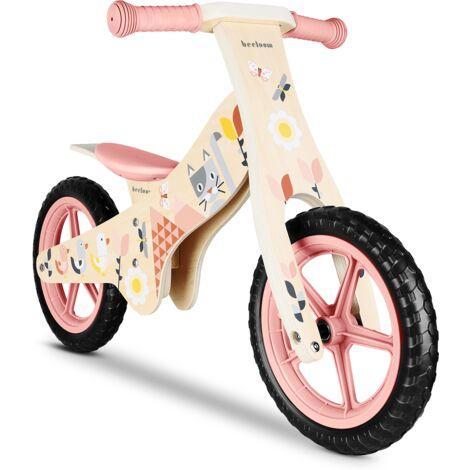 LALALOOM - SPRING BIKE vélo rose sans pédales