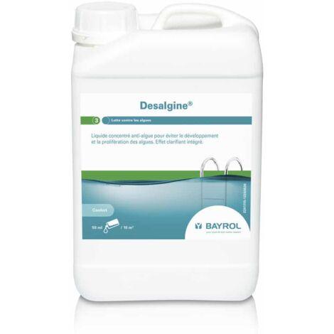 L'algicide DESALGINE - Bayrol - Plusieurs modèles disponibles