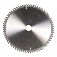 Lama circolare HSS 250 x 30 mm Numero di denti: 72 Ferm MSA1027 1 pz.