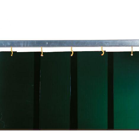 Lama para soldadura/Cortina VERDE 6 EN 1598 DIN EN ISO 25980 ref 2219