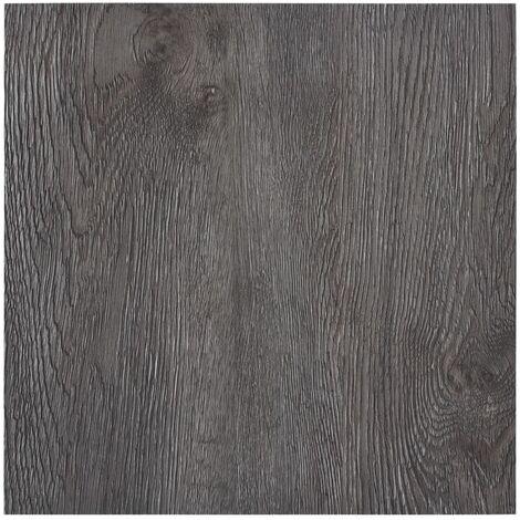 Lamas para suelo autoadhesivas PVC marrón 5,11 m²