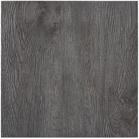 Lamas para suelo autoadhesivas PVC marron 5,11 m2