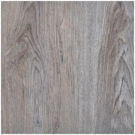 Lamas para suelo autoadhesivas PVC marrón claro 5,11 m² - Marrón