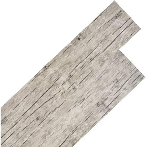 Lamas para suelo de PVC 5,26 m² 2 mm roble