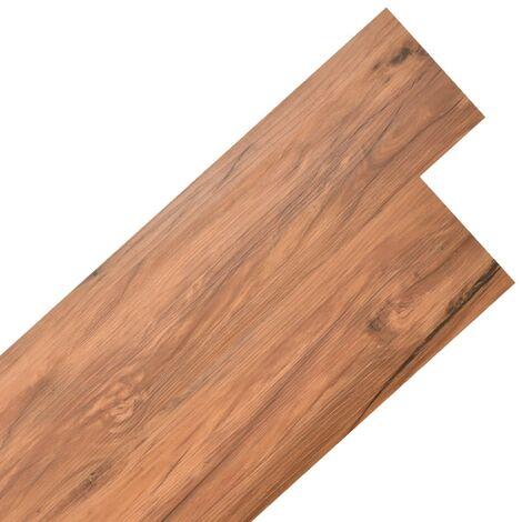 Lamas para suelo de PVC autoadhesivas 5,02m² 2mm olmo natural