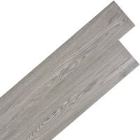 Lamas para suelo de PVC autoadhesivas 5,02m² gris oscuro