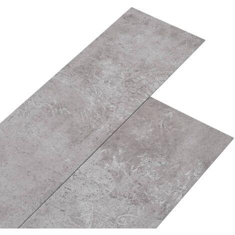 Lamas para suelo de PVC autoadhesivas gris tierra 5,02 m² 2mm