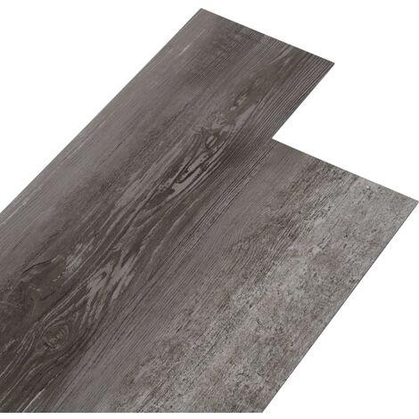 Lamas para suelo de PVC autoadhesivas madera a rayas 5,02m² 2mm