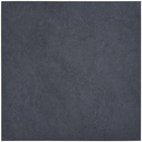 Lamas para suelo de PVC autoadhesivas mármol negro 5,11 m²