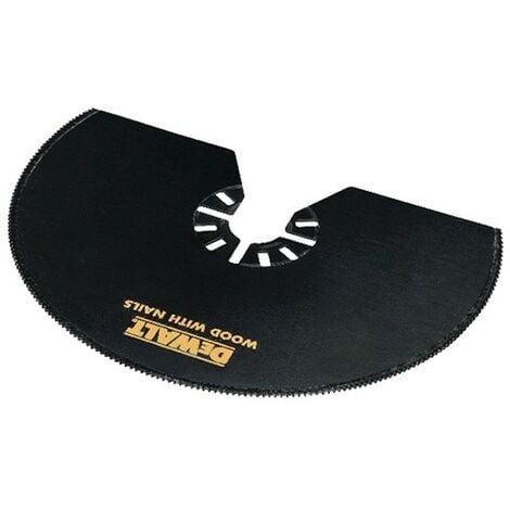 Lame Bim semi-circulaire Ø100 mm pour Multicutter DEWALT - DT20708