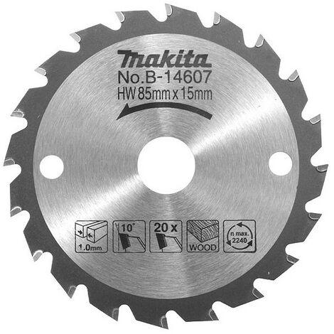 LAME CARBURE 85MM-15-20D HS300 MAKITA B-14607