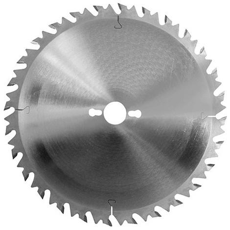 """main image of """"Lame carbure de scie circulaire de débit D. 250 x Al. 30 mm. x 24 dents alt. anti-recul à bois - 222.250.3024 - Leman"""""""