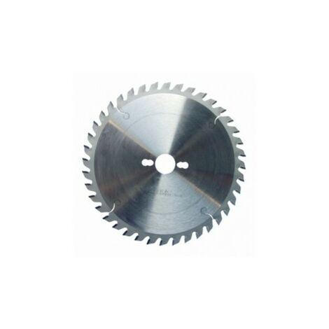 Lame carbure de scie circulaire de mise à format D. 250 x Al. 30 mm. x 60 dents alt. à bois - 336.250.3060 - Leman