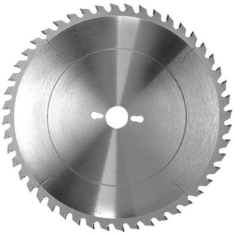 Lame carbure de scie circulaire de mise à format D. 400 x Al. 30 mm. x 84 dents alt. à bois - 334.400.3084 - Leman