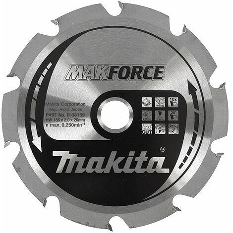 Lame carbure Diam. 140 mm ''MakForce'' pour bois pour scies circulaires MAKITA-B-08137 - -