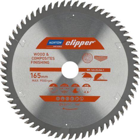 Lame carbure Finition 165x2.6/1.6x20 Z64 NORTON CLIPPER - 70184608091 - -