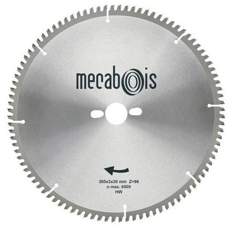 Lame carbure NE3 D. 250 x 3 x 30 mm Z 80 TP Nég. - Alu/Zinc/Cuivre/Nickel/Plastique - 290192 - Sidamo - -