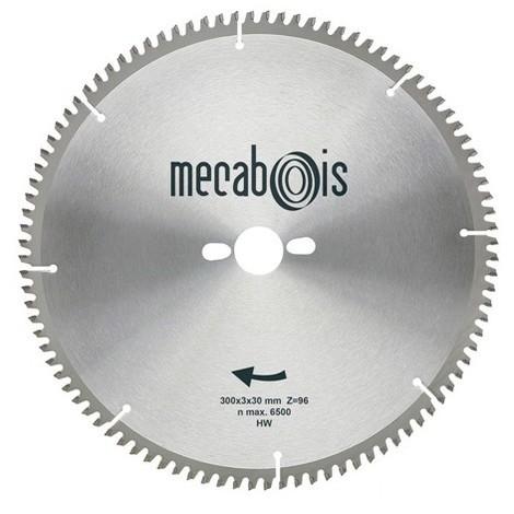 Lame carbure NE3 D. 300 x 3 x 30 mm Z 96 TP Nég. - Alu/Zinc/Cuivre/Nickel/Plastique - 290194 - Sidamo - -