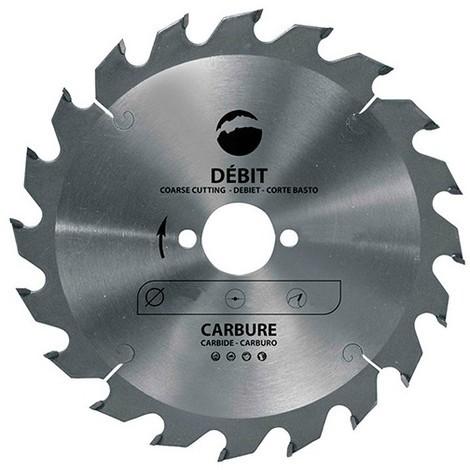 Lame carbure pour portative D. 140 x Al. 20 mm. x 20 dents alt. pour bois - 965.140.2020 - Leman - -