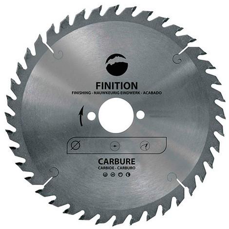 Lame carbure pour portative D. 160 x Al. 16 mm. x 40 dents alt. pour bois - 965.160.1640 - Leman - -